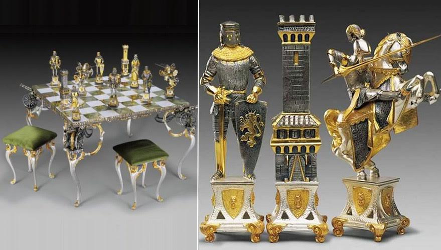 Top 10 Most Expensive Chess Sets In The World Catawiki