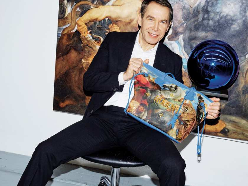 ee1fdae9ea97 Jeff Koons Brings Art in New Louis Vuitton Collection - Catawiki