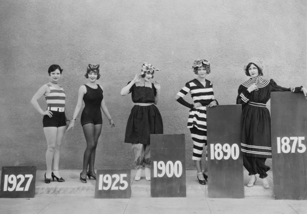 From bathing box to bikini: the evolution of swimwear