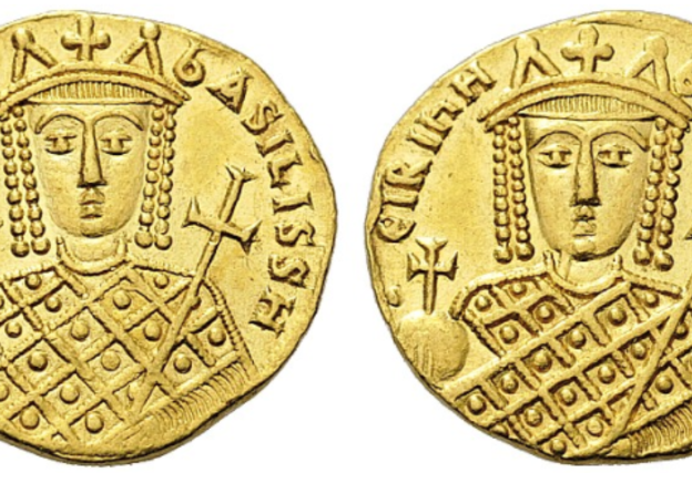 The Coins of the Byzantine Empire: The Cruel Empress Irene