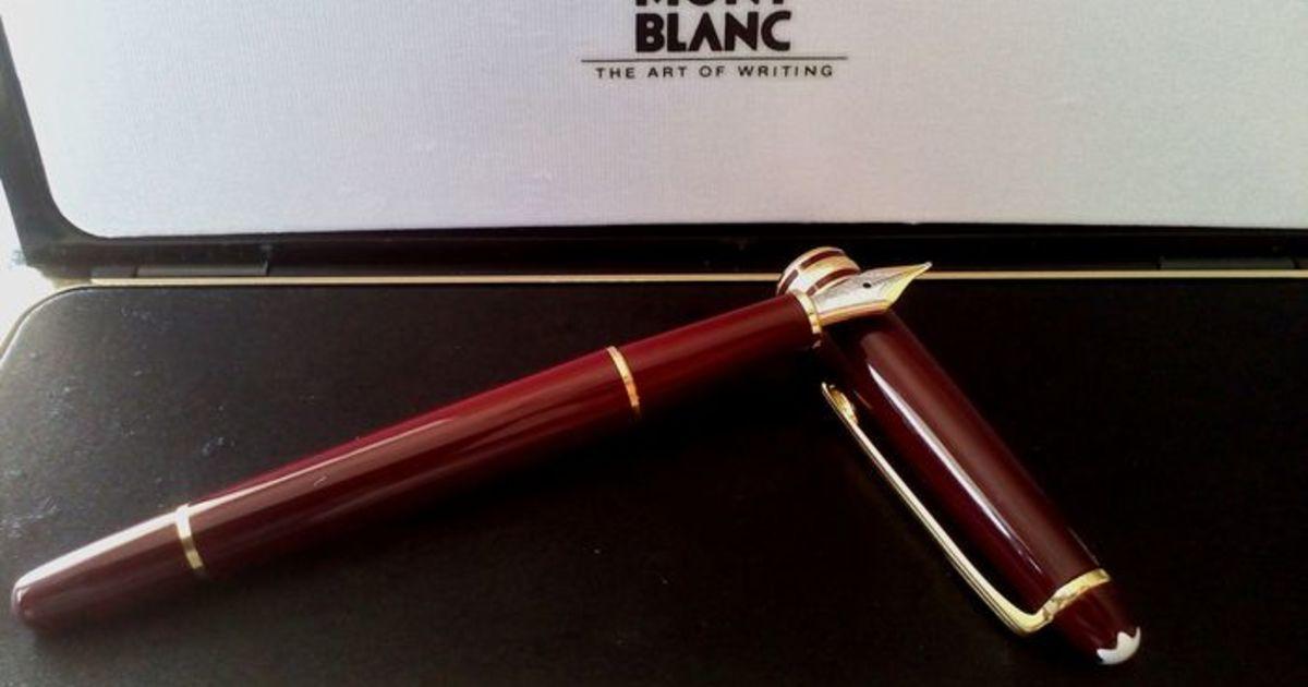 30ffbdac722 Por que todos deveríamos ter uma caneta Montblanc - Catawiki