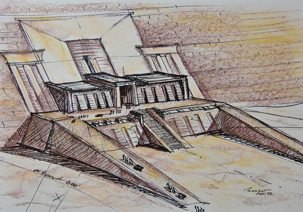 Iconic 'Stargate' Concept Art On Auction at Catawiki
