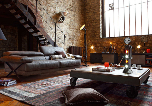 Inspired by Factories: 5 Items to Create an Industrial Interior