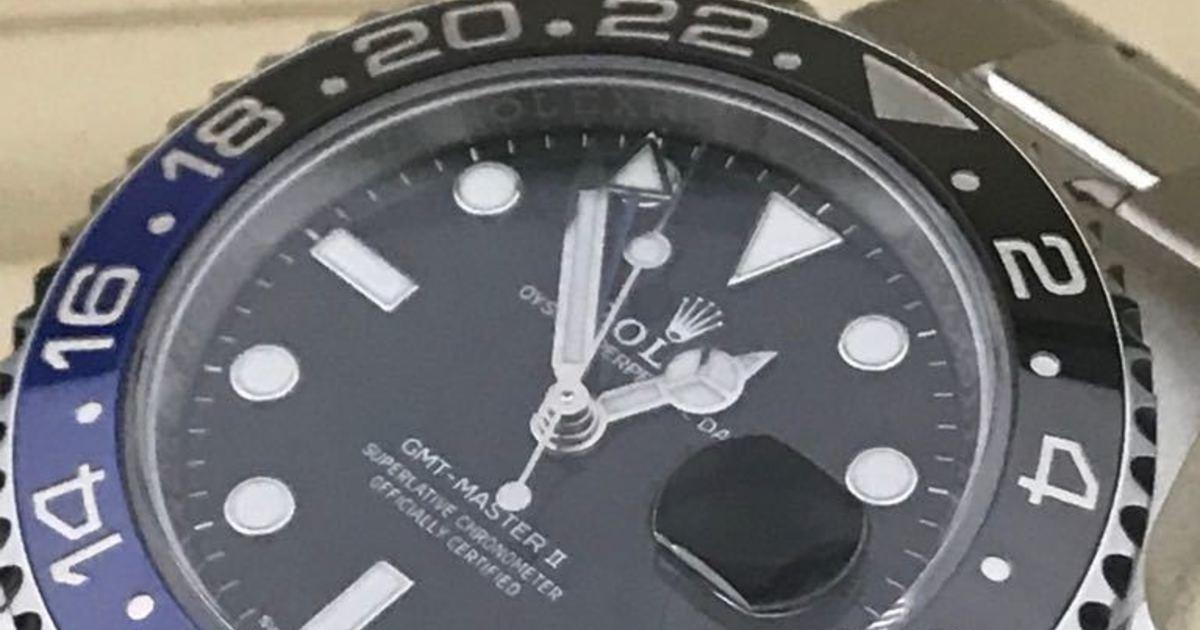 d43ec38423d Descobertas fantásticas  relógio Batman Rolex novo