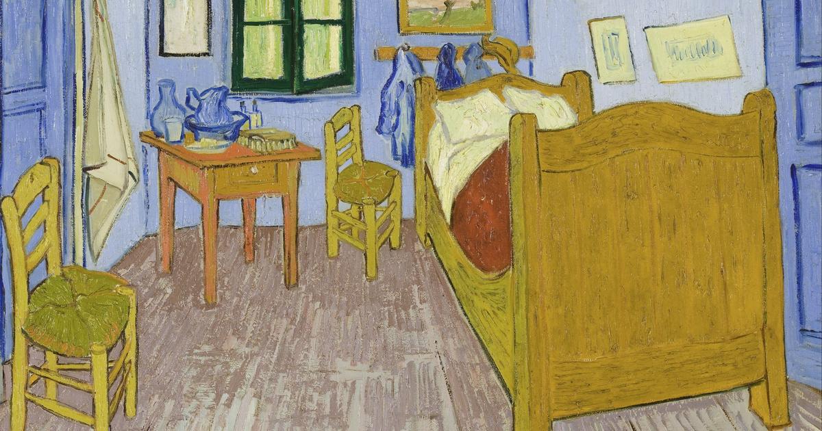 """66318ff8f8a Dar vida à arte  """"Quarto em Arles"""" de Van Gogh - Catawiki"""