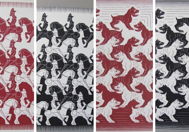 Fantastic Finds: An Exclusive Book About M.C. Escher's Obsession With Tessellation