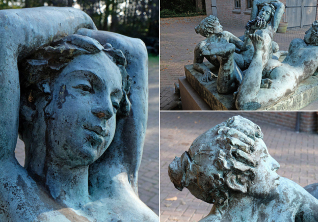 Fantastic Finds: 'The Three Graces' Sculpture by Carla Rutgers-Hendriksen