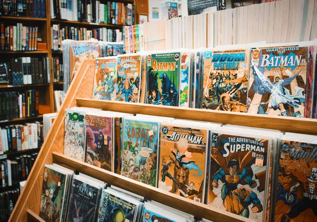 Tim Plumbe's love for comics