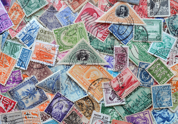 The Highlights from this week's Stamp and Postcard Auctions