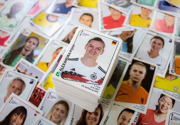 Sexism makes women's Panini stickers a surprisingly good investment