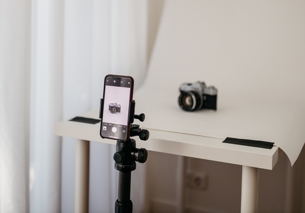 How to build a photo studio from home