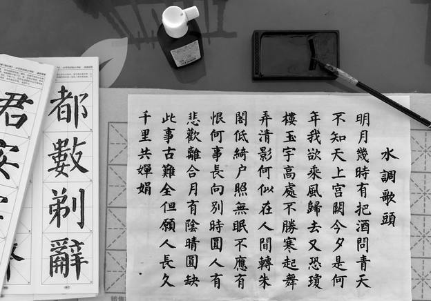 Introduction à l'art de la calligraphie chinoise