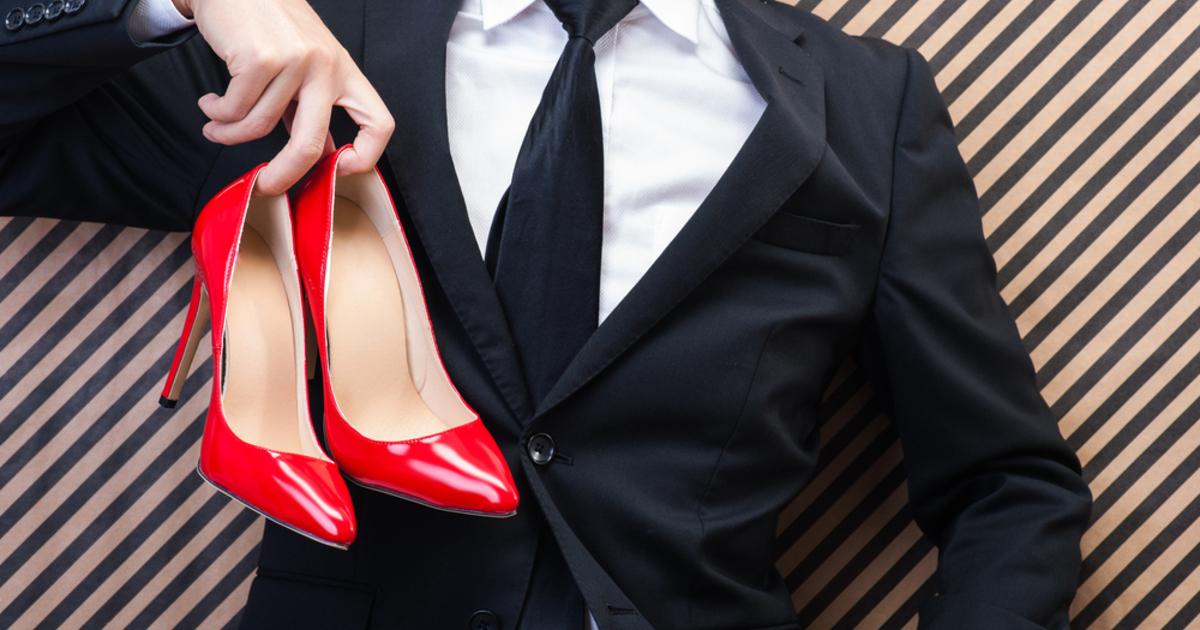 Waarom mannen eigenlijk hoge hakken moeten dragen Catawiki