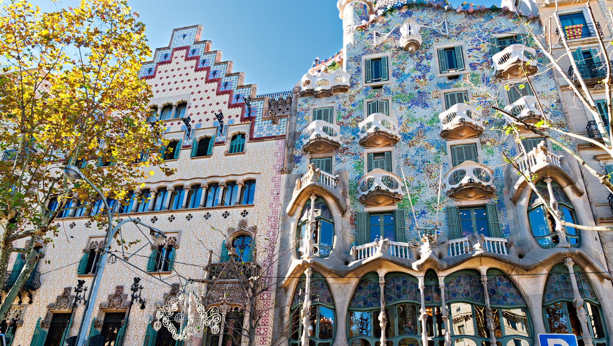 10 magnifiques b timents art nouveau voir durant vos - Art nouveau architecture de barcelone revisitee ...