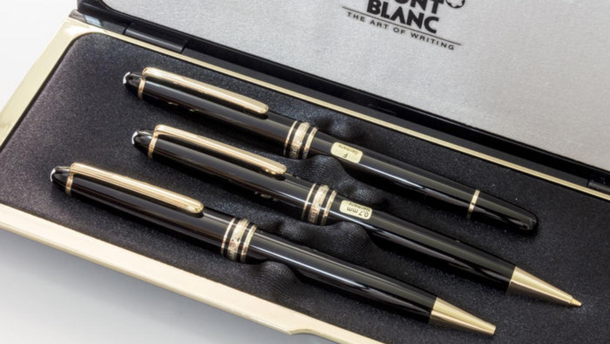 49d2a3db955 Ter uma caneta Mont Blanc é mais do que ter apenas um artigo de papelaria