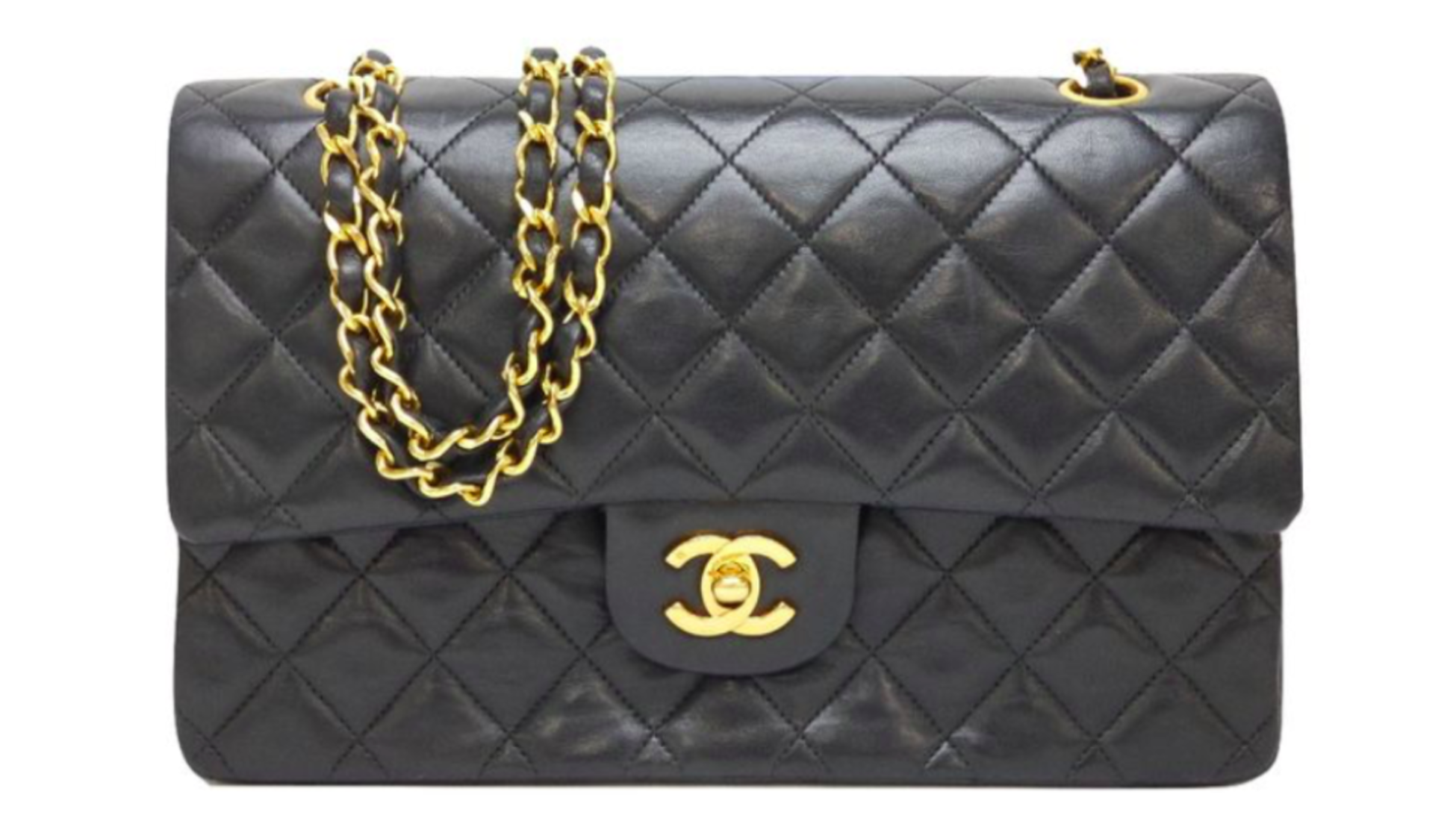 Le sac à rabat classique et intemporel de Chanel 2.55 - vendu pour 1 850 €  sur Catawiki 903b15c3384