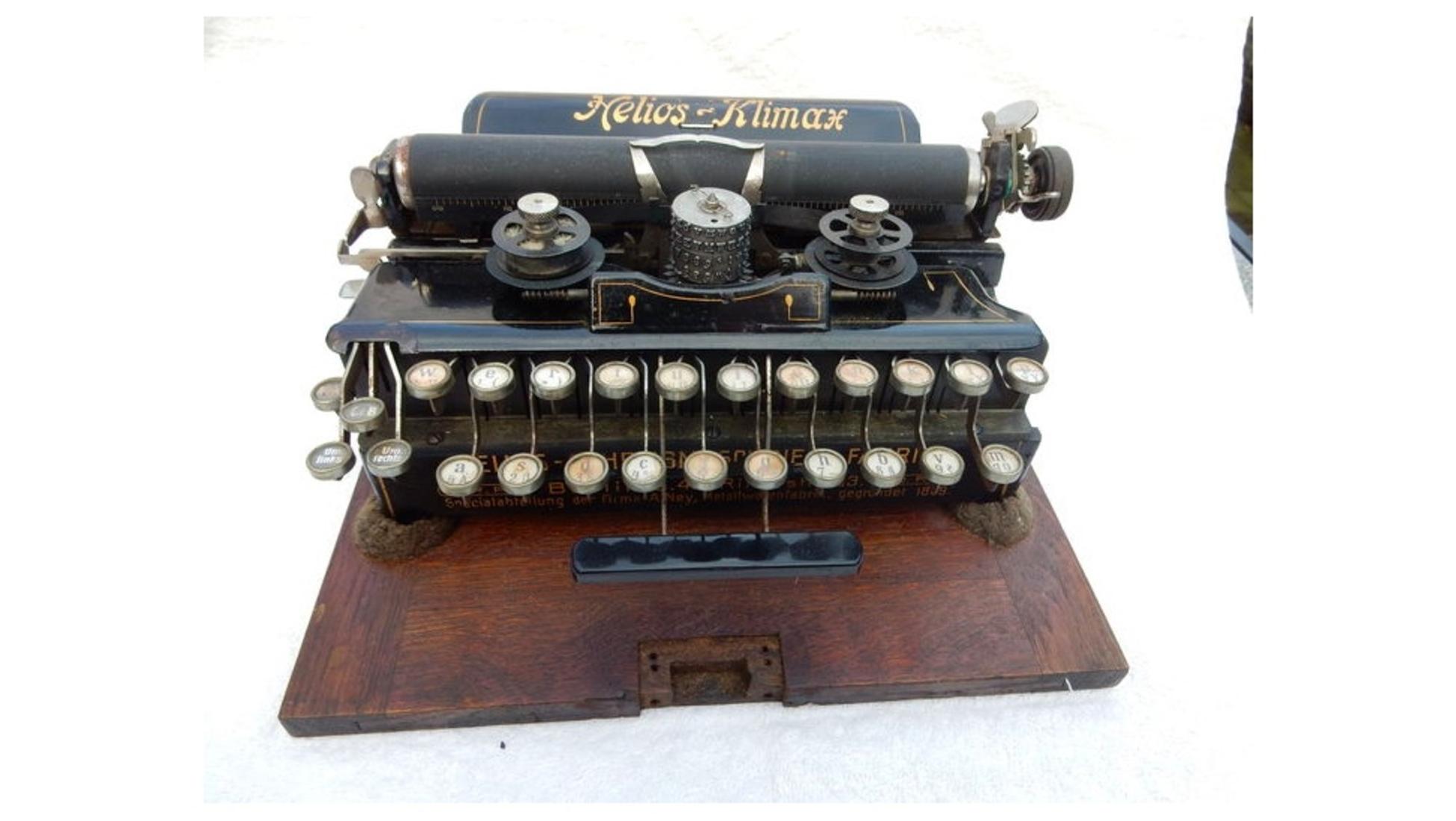 wie viel ist ihre alte schreibmaschine noch wert catawiki. Black Bedroom Furniture Sets. Home Design Ideas