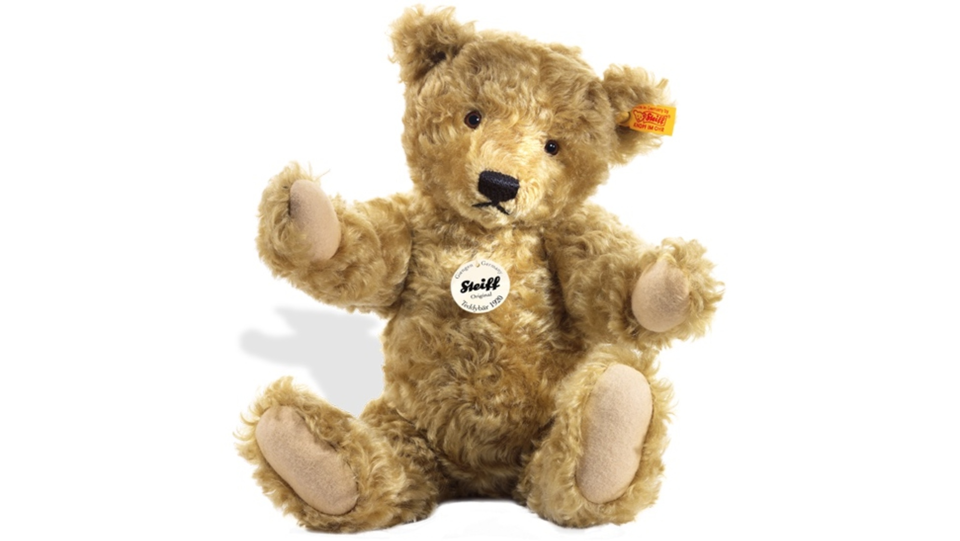 2cff1384b56 Steiff began making soft animal toys in Germany in the late 1800s. But it  was only when the company produced their now famous 'Teddy' bears in 1902  that ...