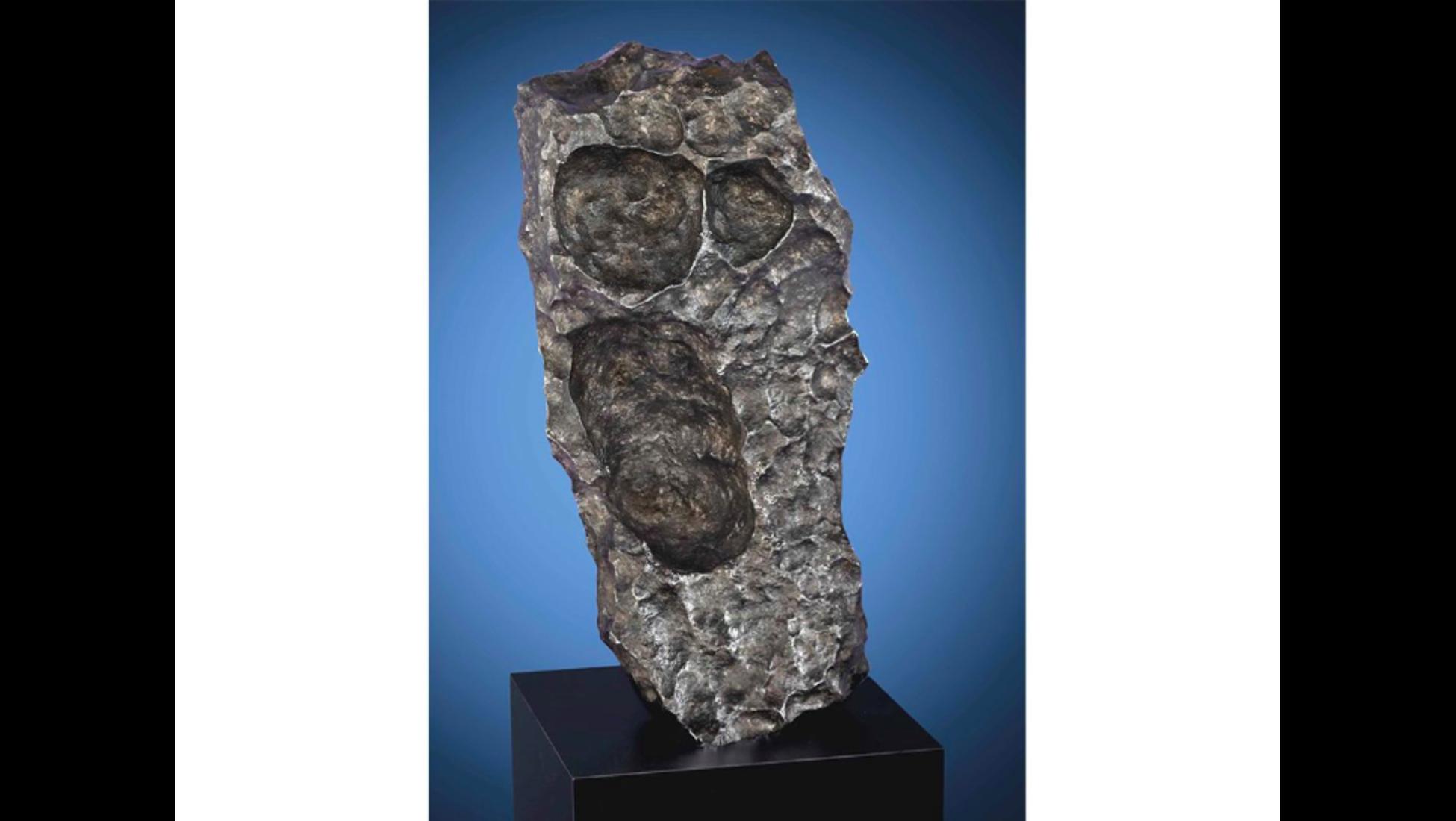 Har ar sveriges storsta meteorit