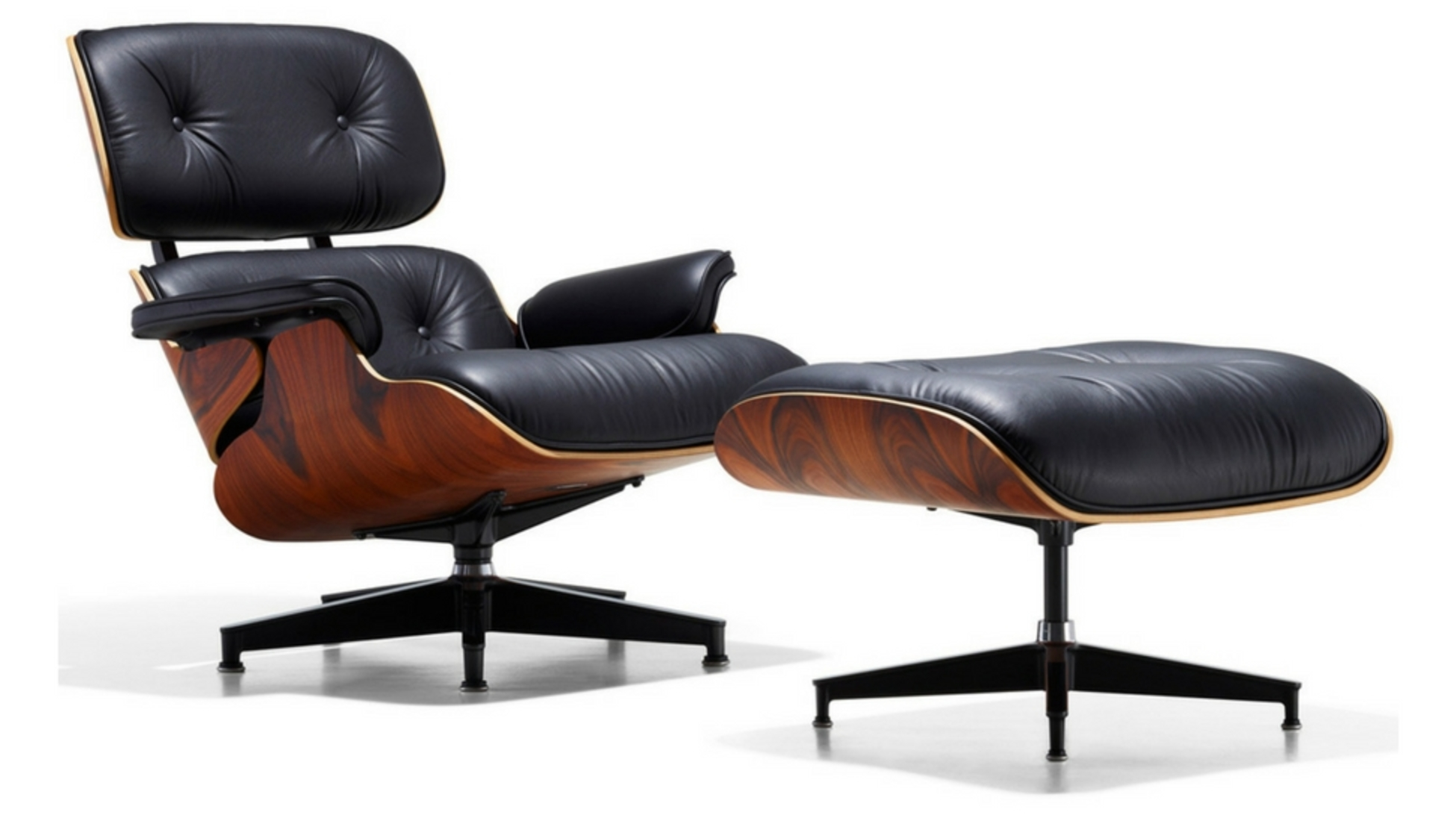 Great This Is Just One Of Their Many Designs, But Definitely The Most Famous One.  A Leather Lounge Chair With, As Charles Eames Stated, U201cthe Warm, Receptive  Look ...