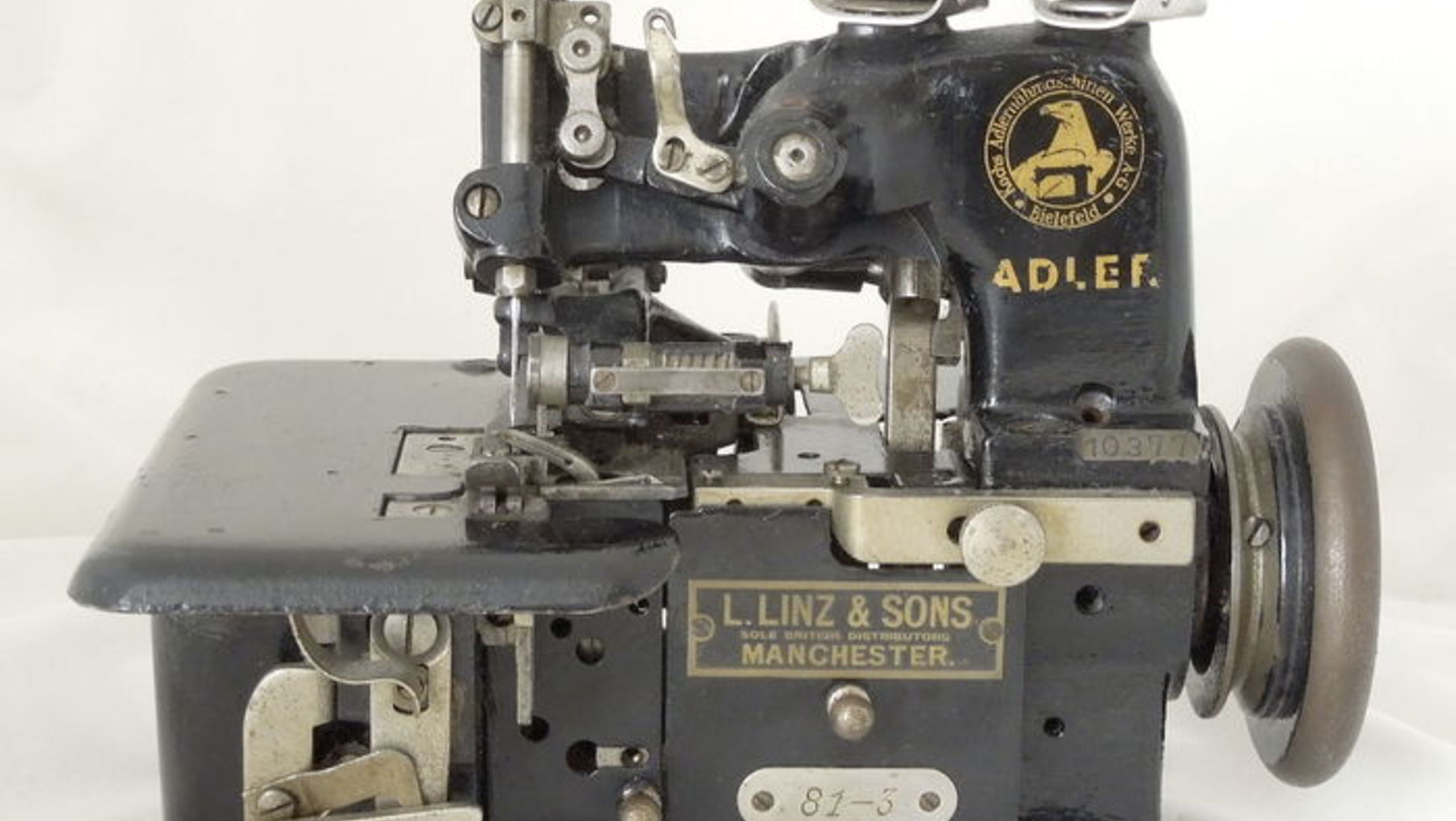 How To Determine The Value Of Your Old Sewing Machine Catawiki Atlas Threading Diagram Valuable Machines At It Can Be Useful Understand What Sells Well Auction Take A Look Five Most Expensive