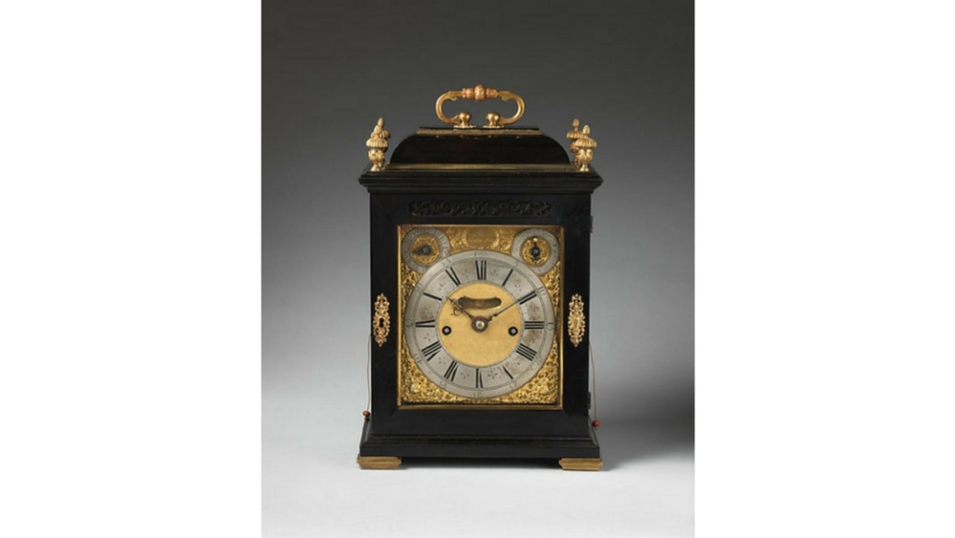 06b00513b8f Sendo este 1 de 3 relógios produzidos no século XVIII pelo aclamado  relojoeiro britânico