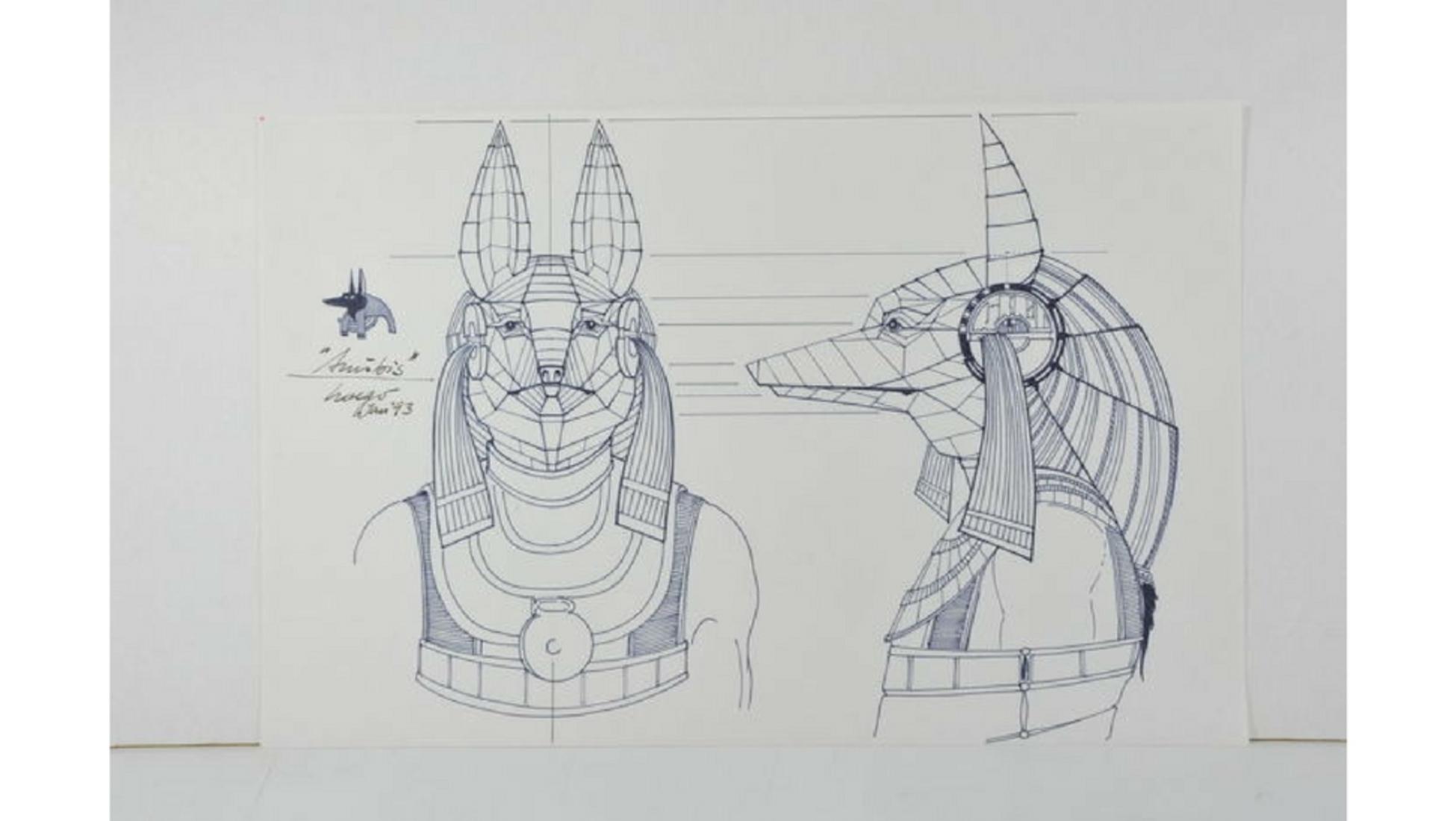 Flying Pyramids Fantasy Art