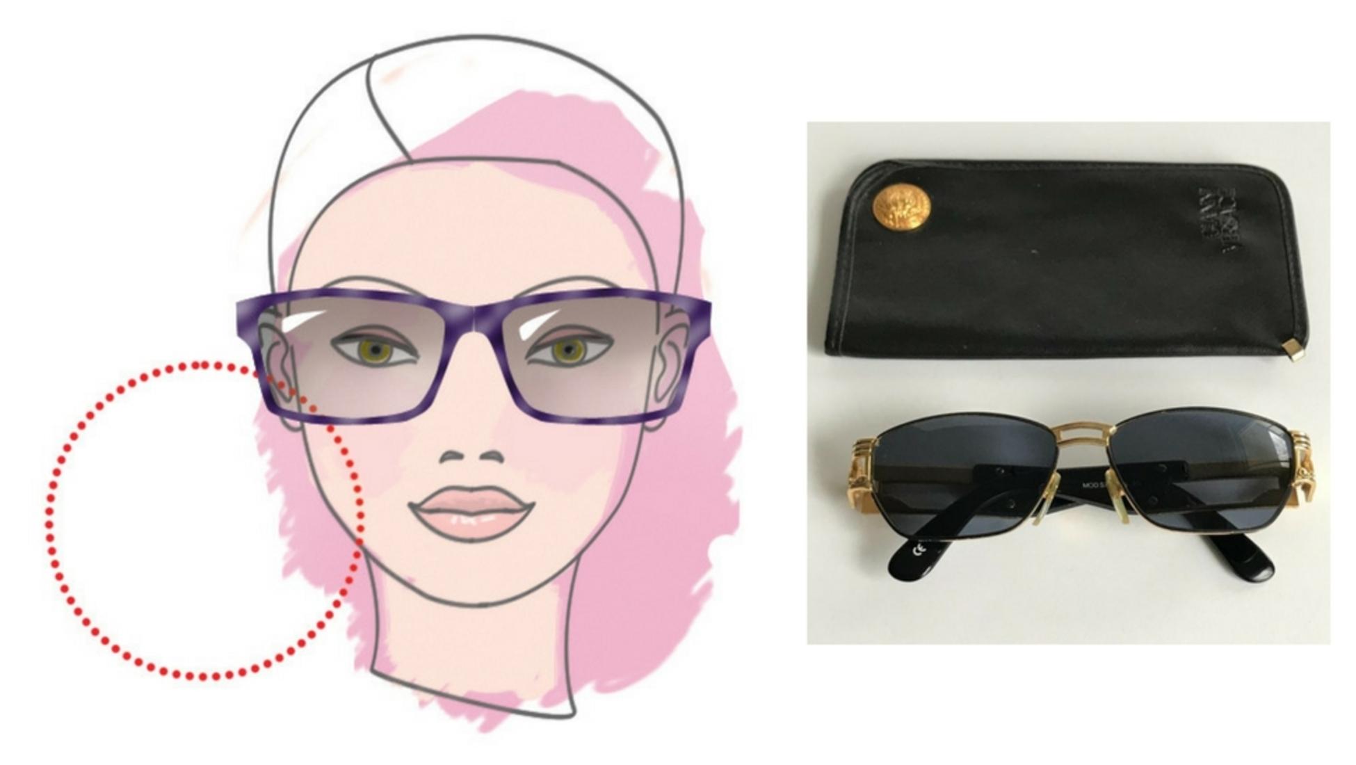 51668d7622 Les suggestions de Clémentine ? Cette paire de lunettes de soleil Versace  angulaires feront parfaitement l'affaire aussi bien pour les hommes que pour  les ...