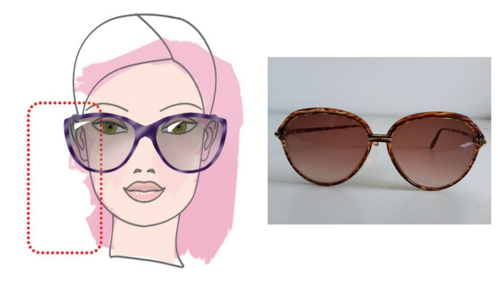 7742e58cd5 Las gafas de sol más grandes funcionan bien en caras alargadas o  rectangulares