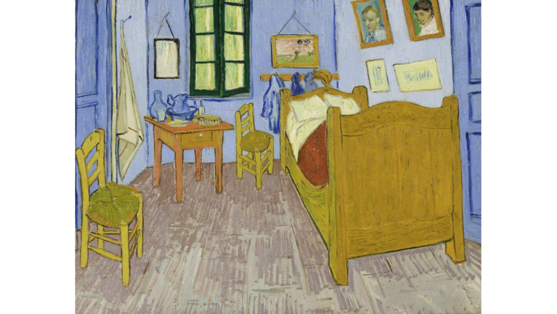 """L\'arte che prende vita: """"La camera di Vincent ad Arles"""" di ..."""