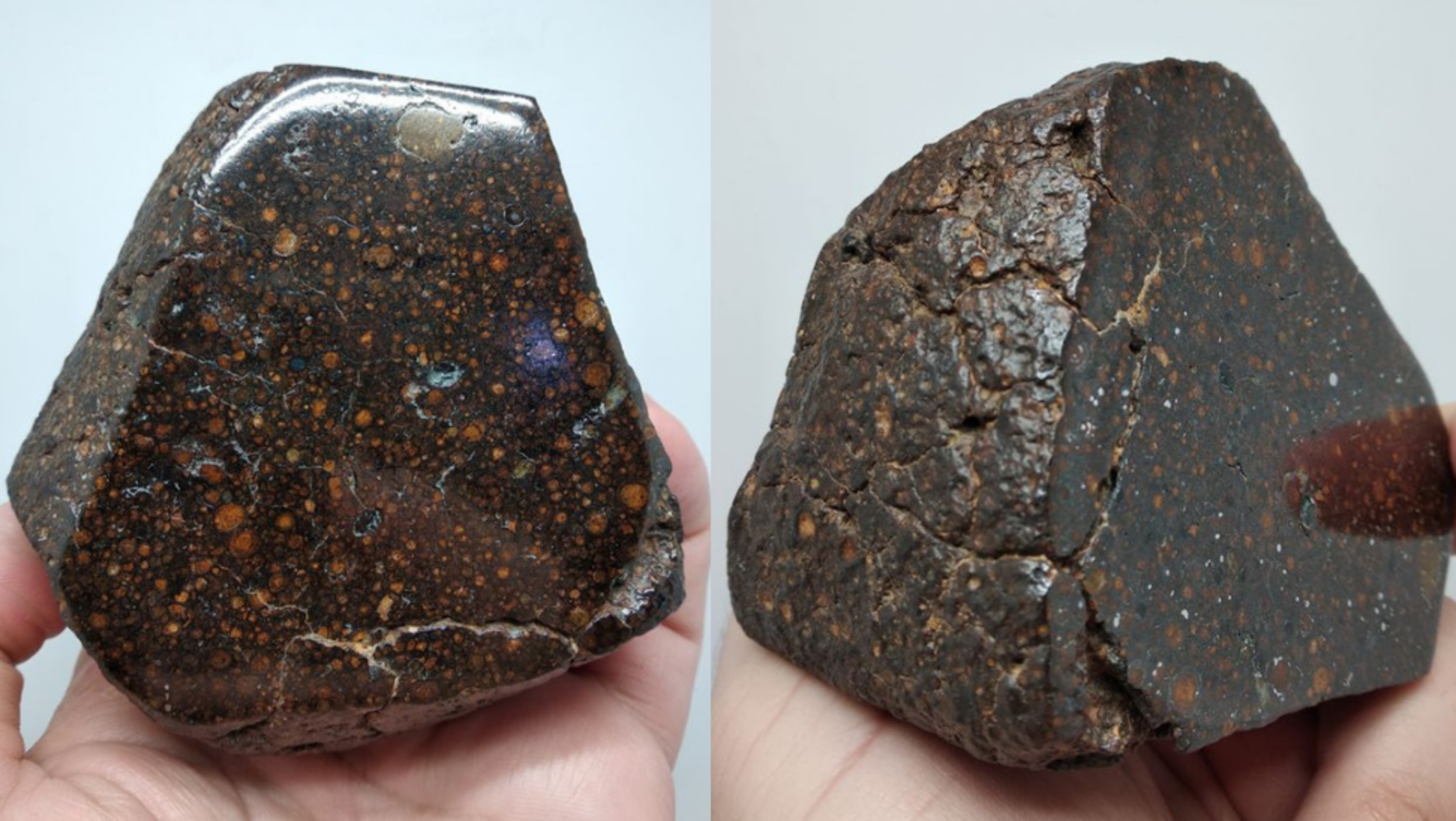 метеорит с меркурия фото один