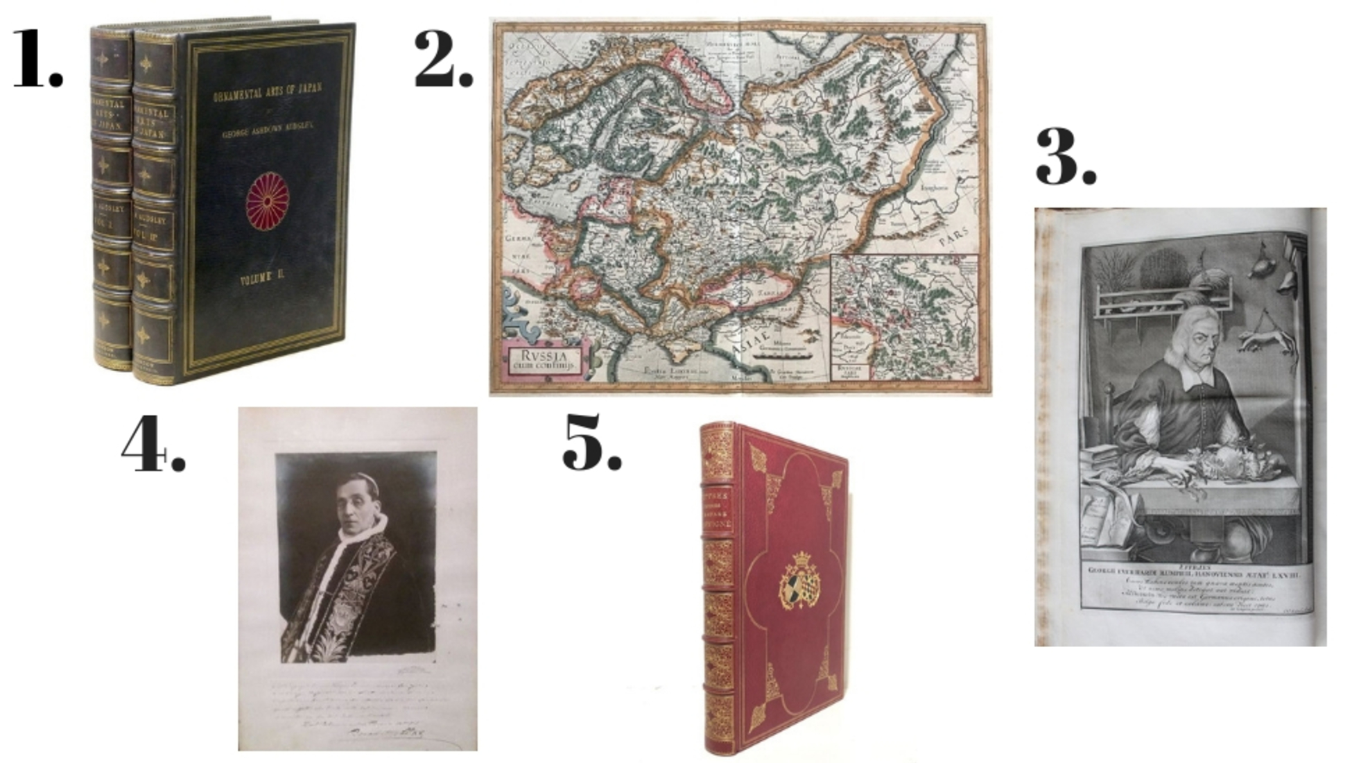 6d9c62c9e2f0 Esta semana nuestro experto en libros Mark Harrison elige cinco artículos  excepcionales de nuestras subastas de libros y cartografía